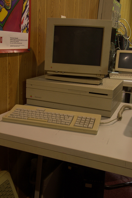 The Apple Macintosh was the first gaming computer I owned