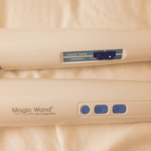 A look at the Power and Vibration options on the Magic Wand